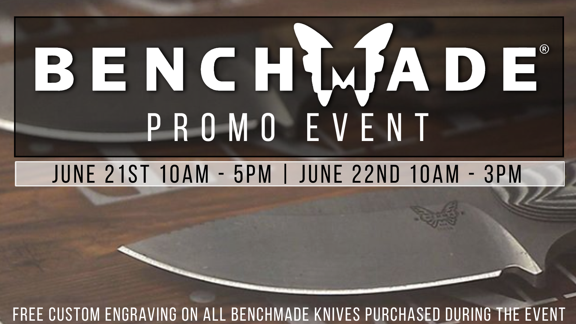 Benchmade Promo Event at Buds Gun Shop & Range TN