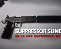 Suppressor Sunday at Buds Gun Shop & Range TN
